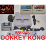 Super Nintendo,+ Jogo+ 2 Controles+ Cabo Av-loja