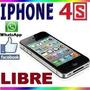Iphone 4s 16gb Solo Hoy Promocion 1890 Pesos (envío Gratis)