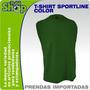 Camiseta Sin Mangas Sportline - Reventa X Mayor Estampar