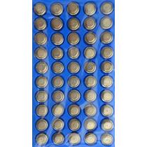 Kit Com 10 Cartela C/ 50 Pç Bateria Alcalina Lr44 Ag13