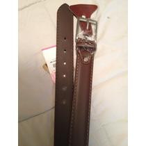 Cinturon Para Caballero Jbe, De Piel, Talla 30 Nuevo 299$