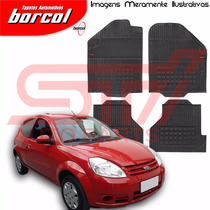 Tapete Borracha Interlagos Ford Ka 2008 2009 2010 Borcol 4pç