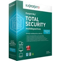 Kaspersky Total Security Multidispositivos 2017 3pcs 1 Ano !