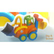 Carro Para Bebe Tractor, Regalo, Resistente, Somos Tienda.