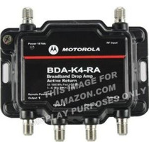 Motorola Amplificador De Señal De 4 Puertos Cable Módem Tv A