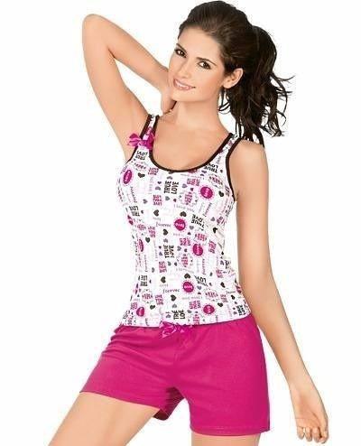 f8f28501d8 Pijama   Pijamas Dama Conjunto Busa Short - Bs. 420