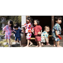 Jinbei Yukata Japonesa Niños Bebes