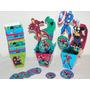 Kit Caja Pochoclera Avengers X 20 Udes.+ 2 Centros De Mesa