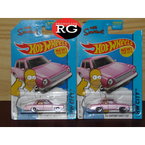 Hot Wheels - The Simpsons Family Car - New For 2015