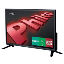 Tv Led 28 Ph28d27d C/conversor Integrado Hdmi E Usb