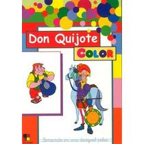 Don Quijote Color: Le Gustaban Los Libros De Caballería