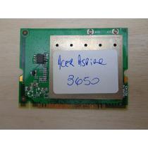 Placa De Rede Wireless Do Acer Aspire 3650