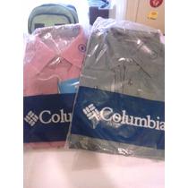 Camisa Manga Larga De Hombre Caballero Columbia