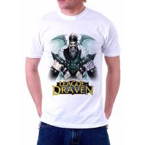 Camisa, Camiseta League Of Legends, Draven