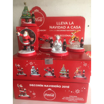 Decorines Coca Cola Colección Completa Reno,árbol,santa,oso