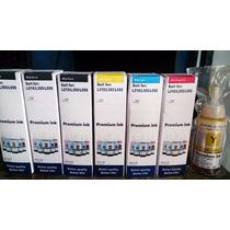 Tintas Original Para Epson Model L210 L355 L555 $18 Combo 4
