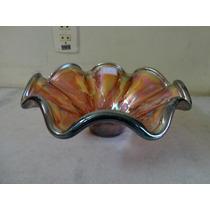 #18261 - Promoção Fruteira Vidro Carnival Glass Pequena!!!