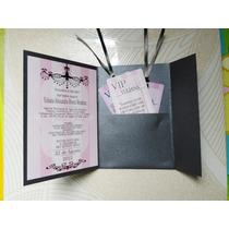 Invitaciones 15 Años, Xv Años, Quince Años, Personalizada