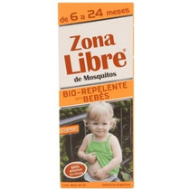Repelente De Mosquitos Para Bebes Zona Libre X 40ml