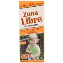Zona Libre - Bio Repelente De Mosquitos Para Bebes X 40ml