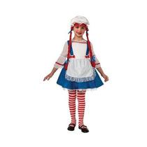 Disfraz Muñeca De Trapo Para Niña Talla Xs