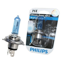 Lâmpada Farol Moto/carro H4 Philips Blue Vision 4000k Xenon