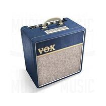 Hola! Vox Ac4c1 Amplificador Para Guitarra Valvular 4w Azul
