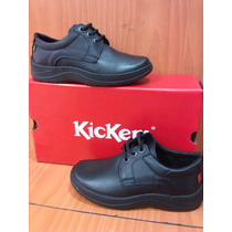 Zapatos Kickers Originales Colegial Niños