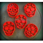 Cortadores Galletitas Cookie Cutter Calavera Mexicana 8 Cm