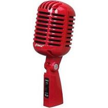 Pyle Pro Microfono Estilo Vintage Retro Profesional Karaoke