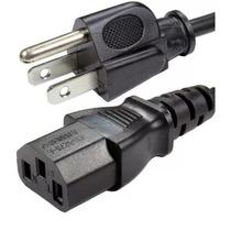 Cable De Corriente Power Cord Calibre 14 Awg, 15a