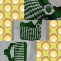 Carteras Y Bandoleros Tejidos A Crochet