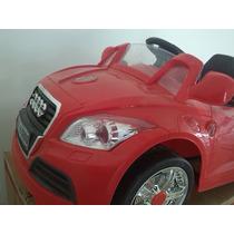 Carro Audi Electrico A Bateria.con Control De Padres