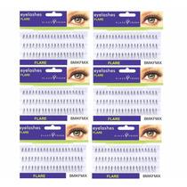 360 Cílios Postiços Em Tufos Tamanho 9,10 E 12mm Klass Vough