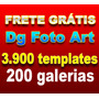 3.900 Templates Projetos Dg Foto Art +gold 2.0 Frete Grátis