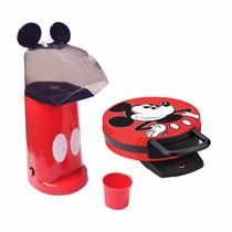 Waflera Y Maquina De Palomitas De Disney Mickey Mouse