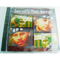 Detroit´s Most Wanted (hip Hop) 1 Cd. Nuevo