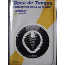 Protetor De Tampa De Tanque Honda Preto / Cinza