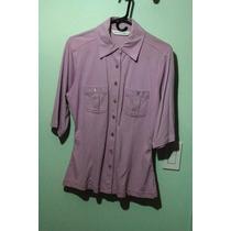 Camisa Lila Jeffrey Rogers Talla M