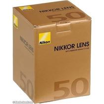 Lente Nikon Af-s Nikkor 50mm F/ 1.4 G Alta Luminosidade.