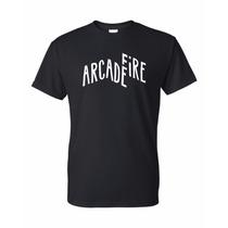 Remera Arcade Fire + Calco