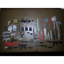 Lote De 62 Armas Juguetes De Muñecos Y Varios - No Envio