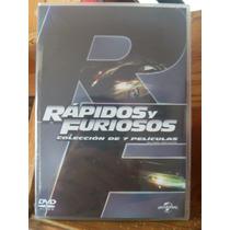 Rápidos Y Furiosos Colección En Dvd