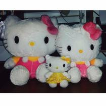 Hello Kitty Peluche Peq, Med, Y Grande