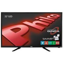 Smart Tv 32 Led Hd Wifi, Função Guide, Função Info - Philco