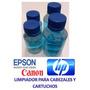 Liquido Limpiador De Cabezales Epson Y Cartuchos Hp.