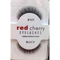 Cilios Postiços Red Cherry 101 O Par 100% Cabelo Humano