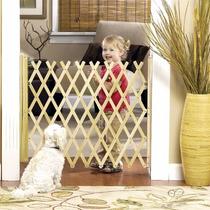 Puerta Plegable Tijera De Protección Para Bebés Y Mascotas