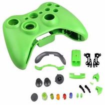Carcaça Completa Controle Xbox 360 Verde