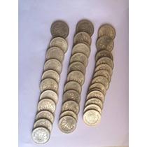 Un Peso Resplandor Moneda Antigua De Plata 0.720 Varios Años